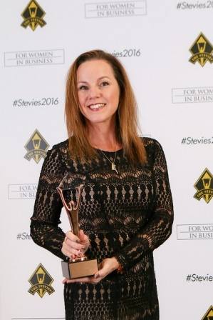 Melinda Stevie Award 2.jpg